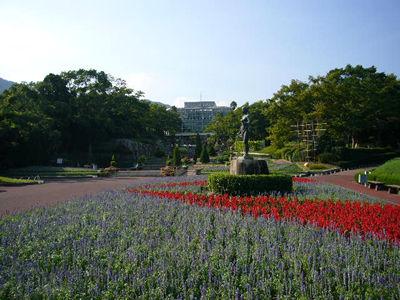 花と緑の癒しの空間